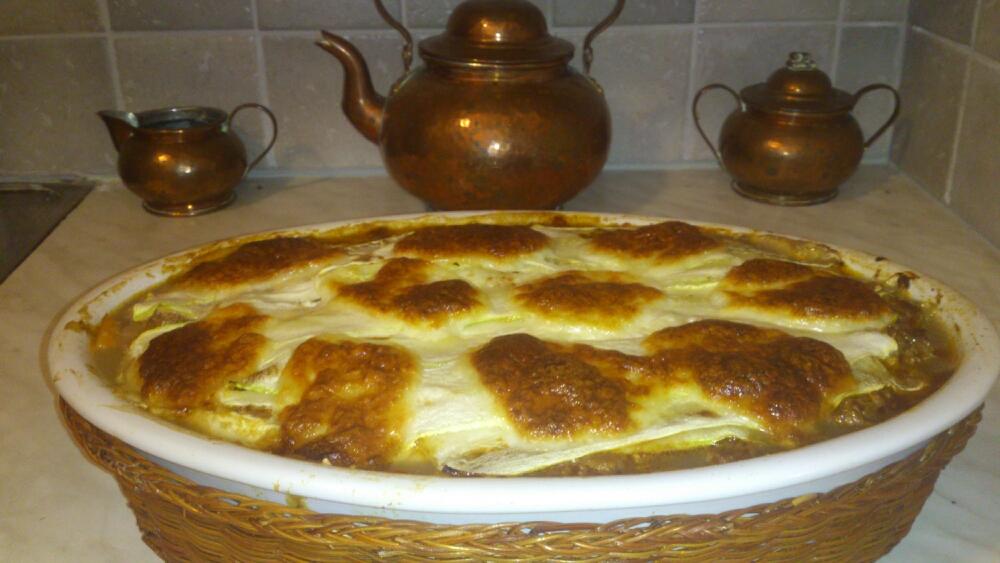 Lasagne med squash/Zucchini