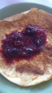 lyxig pannkakor