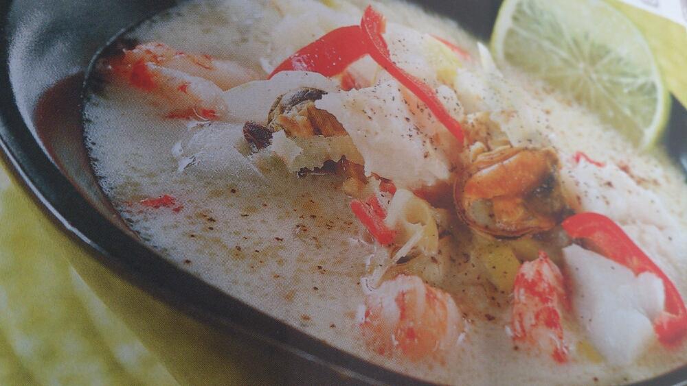 Asiatisk fiskgryta.